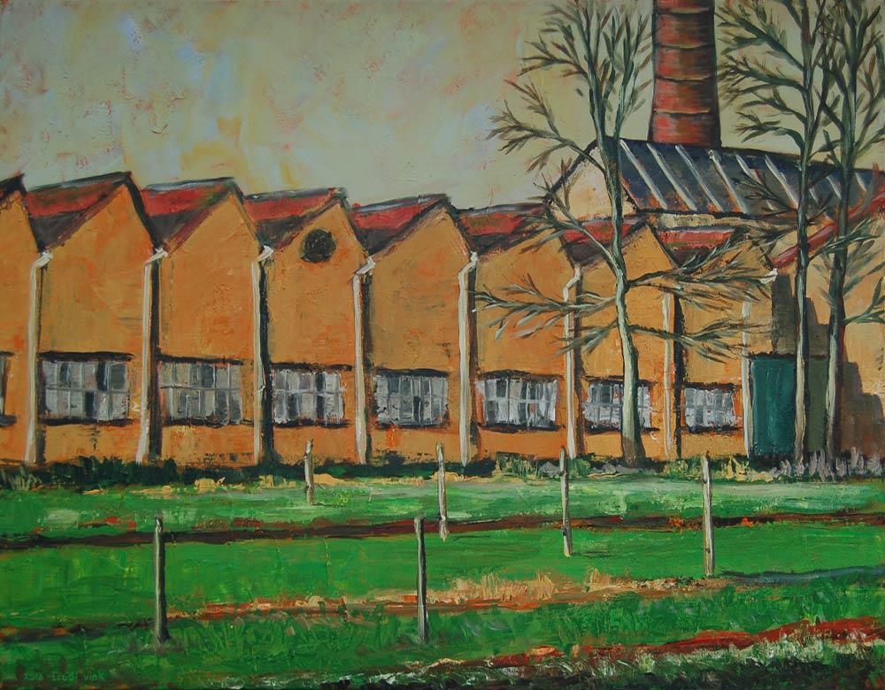 Touwfabriek vanaf de Papenhoeflaan
