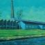 De Touwfabriek vanaf de Papenhoeflaan