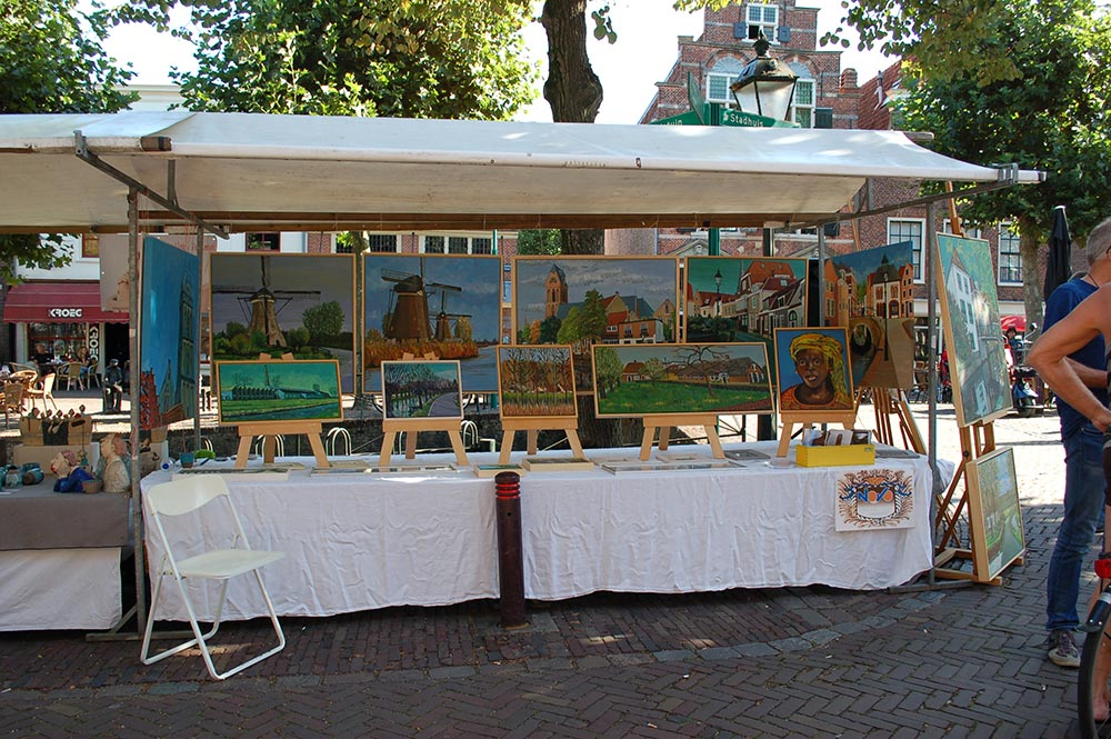 Kunstmarkt te Oudewater 2016