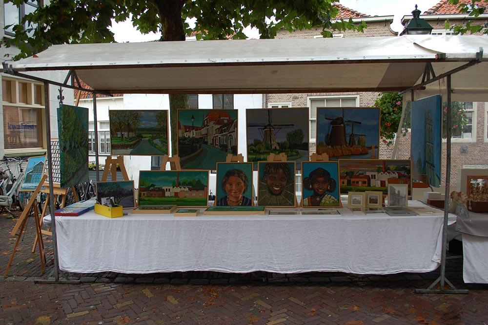 Kunstmarkt te Oudewater 2017