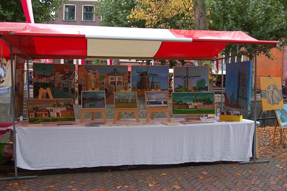 Oude Ambachten markt te Oudewater 2017